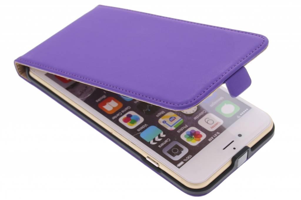 Mobiparts Premium flipcase voor de iPhone 6(s) Plus - Purple