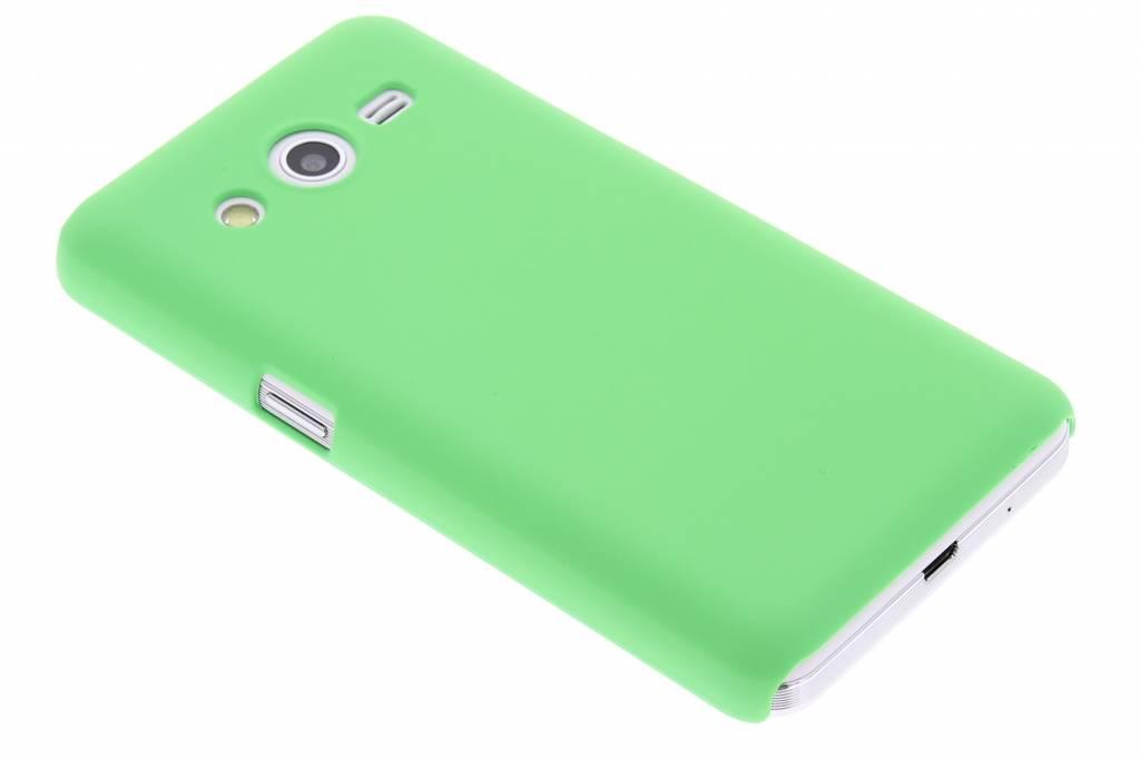 Groen effen hardcase hoesje voor de Samsung Galaxy Core 2