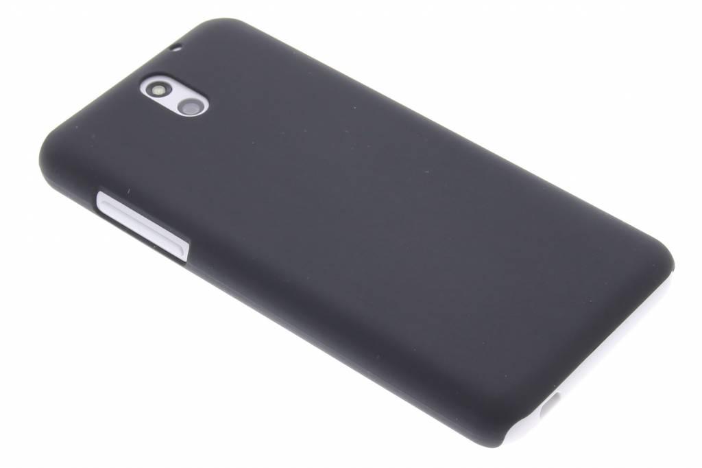 Zwart effen hardcase hoesje voor de HTC Desire 610