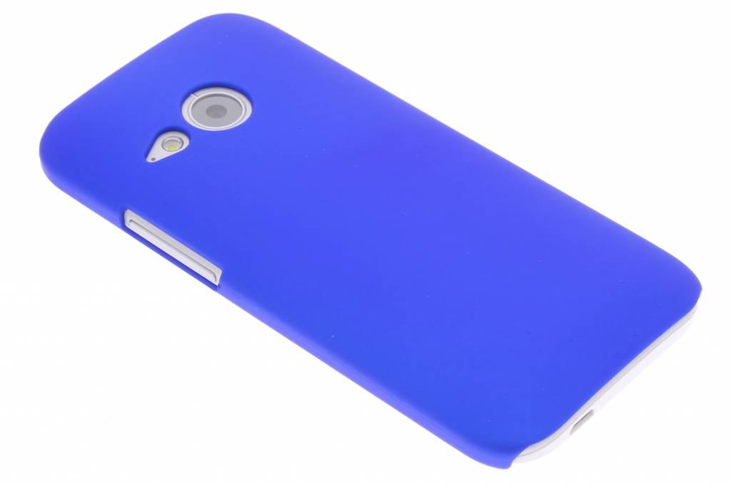 Blauw effen hardcase hoesje voor de HTC One Mini 2