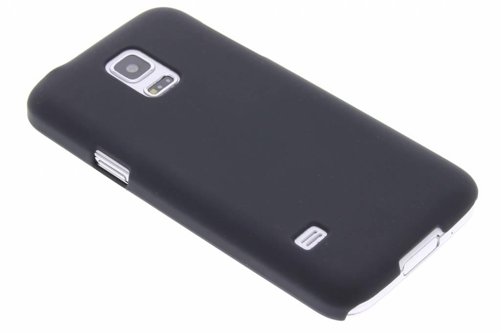 Zwart effen hardcase hoesje voor de Samsung Galaxy S5 Mini