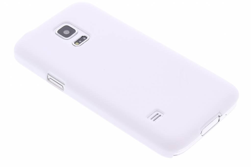 Wit effen hardcase hoesje voor de Samsung Galaxy S5 Mini