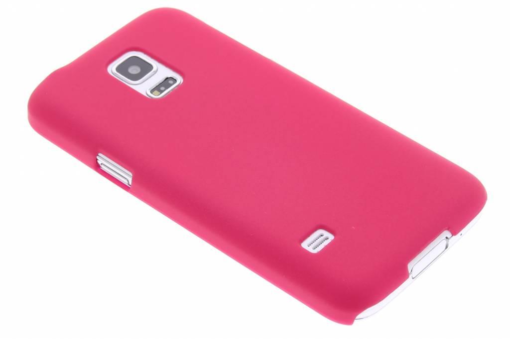 Fuchsia effen hardcase hoesje voor de Samsung Galaxy S5 Mini