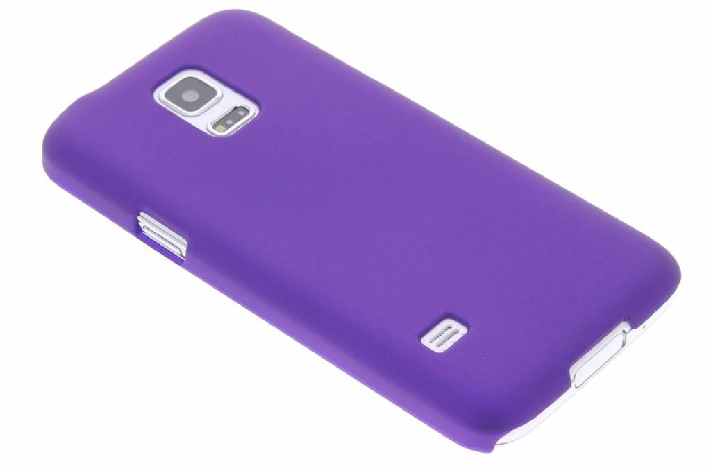 Paars effen hardcase hoesje voor de Samsung Galaxy S5 Mini