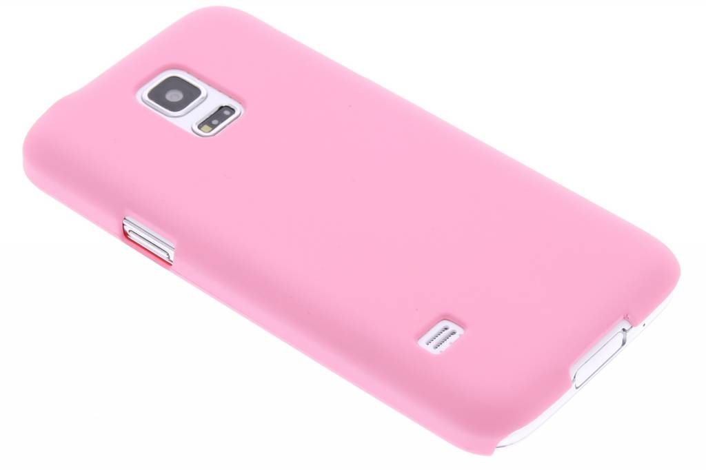 Roze effen hardcase hoesje voor de Samsung Galaxy S5 Mini
