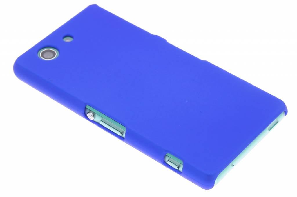 Blauw effen hardcase hoesje voor de Sony Xperia Z3 Compact