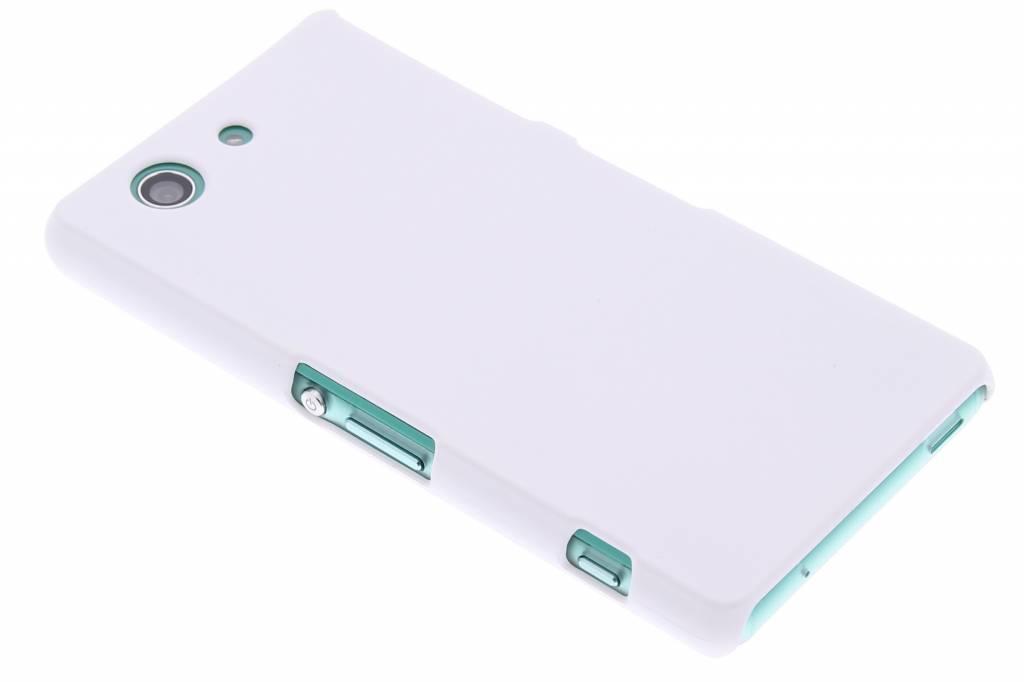 Wit effen hardcase hoesje voor de Sony Xperia Z3 Compact