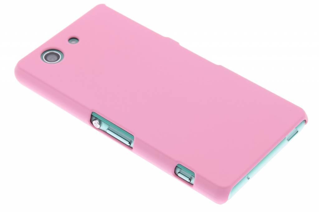 Roze effen hardcase hoesje voor de Sony Xperia Z3 Compact