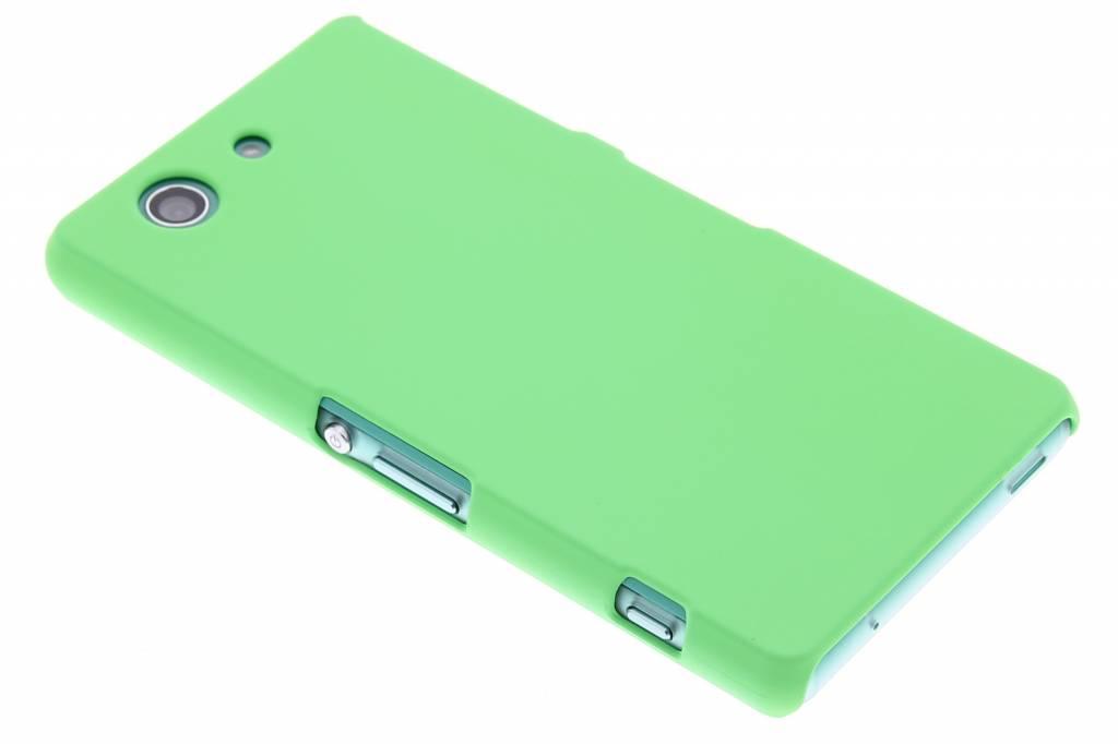 Groen effen hardcase hoesje voor de Sony Xperia Z3 Compact