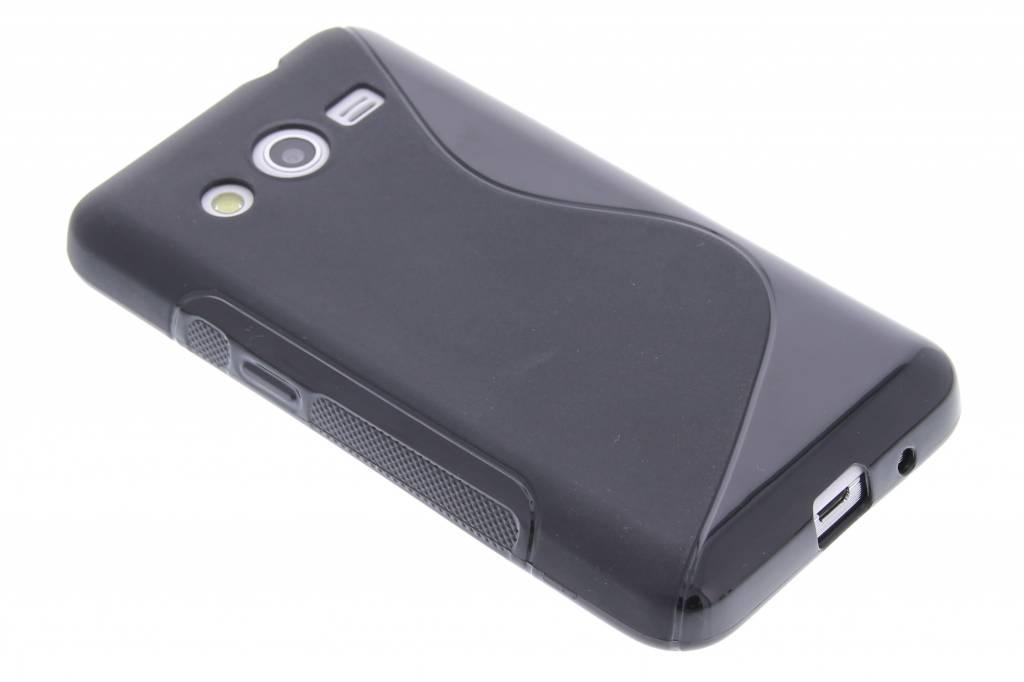 Zwart S-line TPU hoesje voor de Samsung Galaxy Core 2