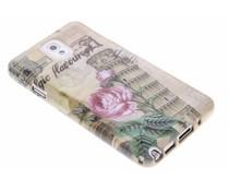 Design TPU siliconen hoesje Samsung Galaxy Note 3