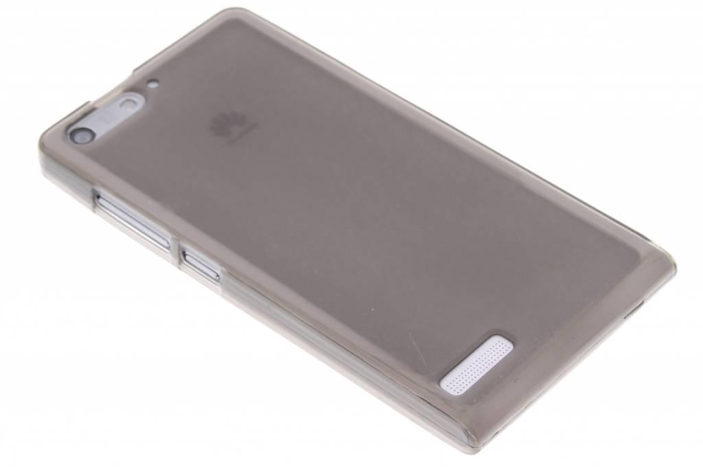 Grijs hard siliconen hoesje voor de Huawei Ascend G6