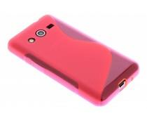 Rood S-line TPU hoesje Samsung Galaxy Core 2