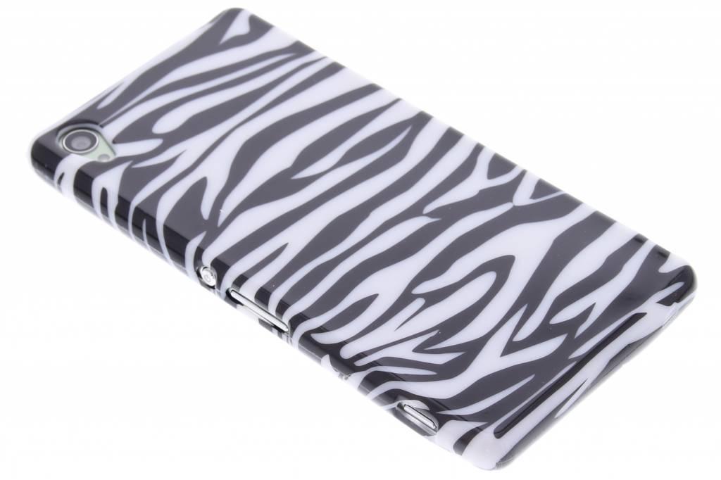 Zebra design TPU siliconen hoesje voor de Sony Xperia Z3