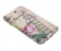 Design TPU siliconen hoesje Samsung Galaxy Note 3 Neo