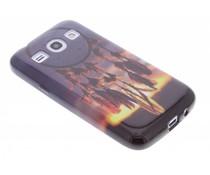 Design TPU siliconen hoesje Samsung Galaxy Core Plus