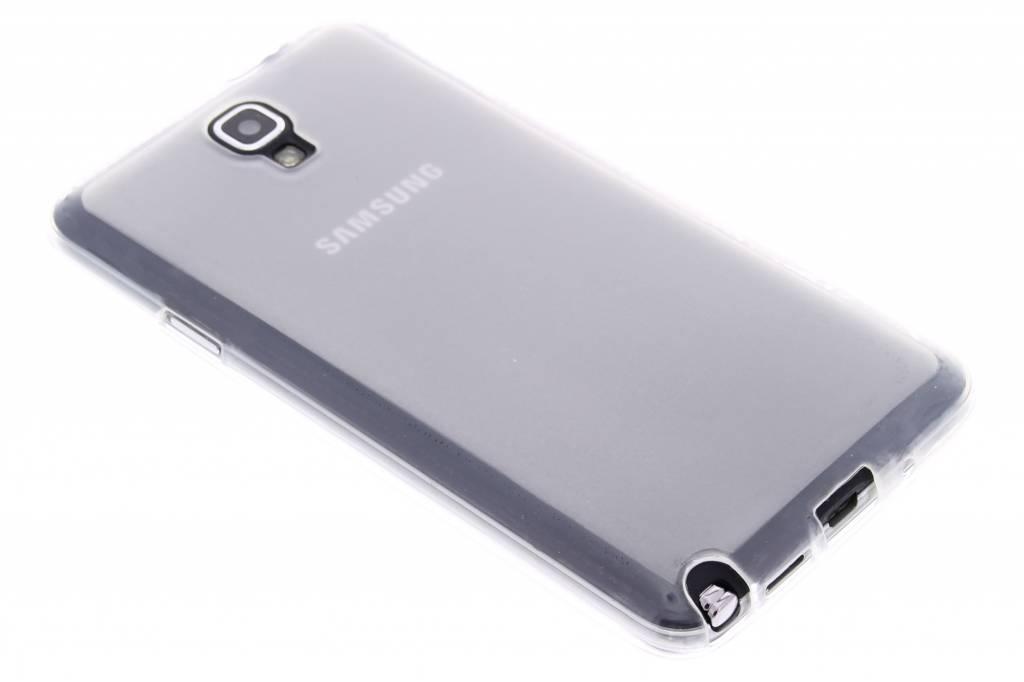 Transparant hard siliconen hoesje voor de Samsung Galaxy Note 3 Neo