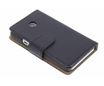 Zwart effen booktype hoes Huawei Ascend Y330