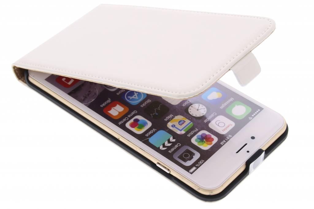 Mobiparts Premium flipcase voor de iPhone 6(s) Plus - White