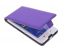 Mobiparts Premium flipcase Sony Xperia E3 - Purple