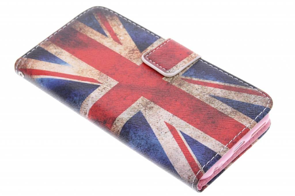Britse vlag design TPU booktype hoes voor de iPhone 6 / 6s