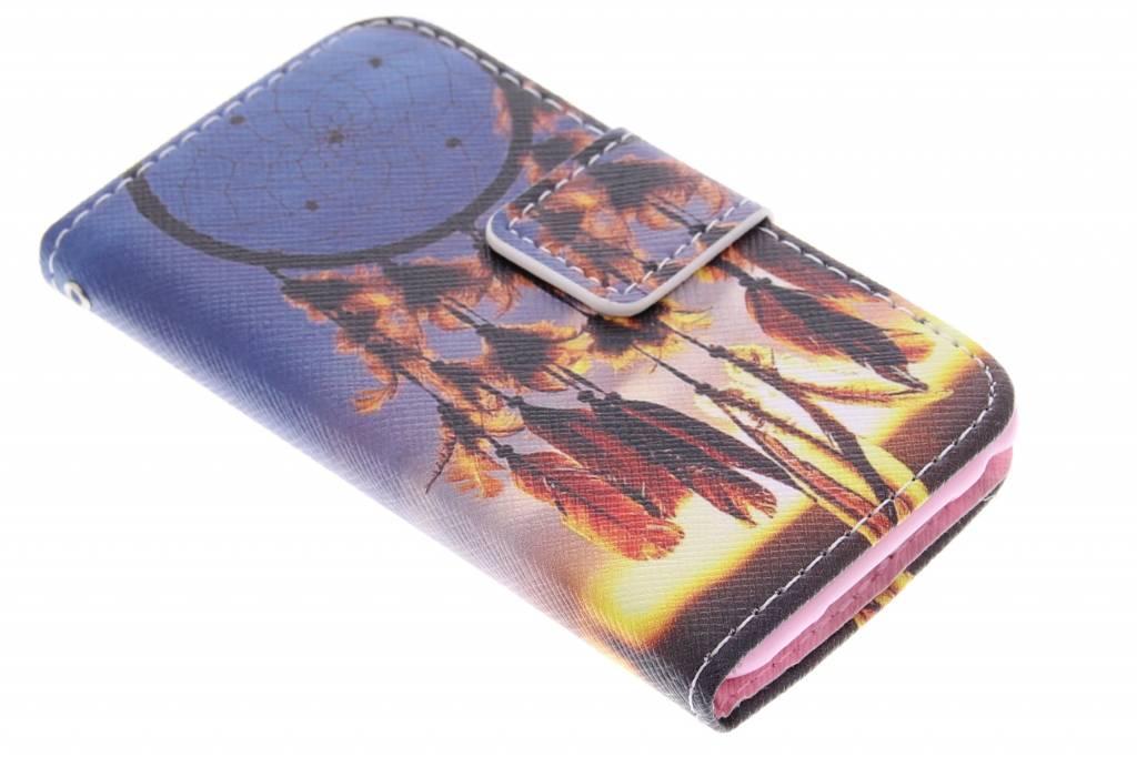Dromenvanger design TPU booktype hoes voor de iPod Touch 4g