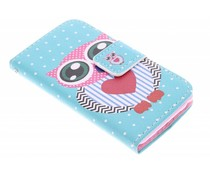 Design TPU booktype hoesje iPod Touch 4g