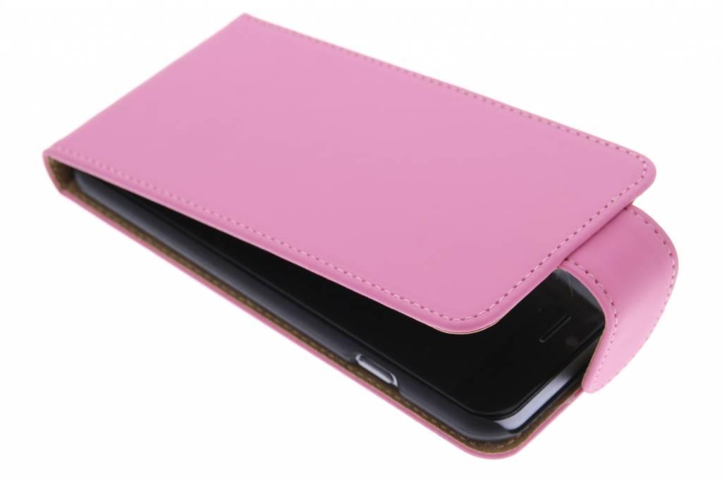Roze classic flipcase voor de iPhone 6 / 6s