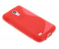 Rood S-line TPU hoesje Samsung Galaxy S4 Mini