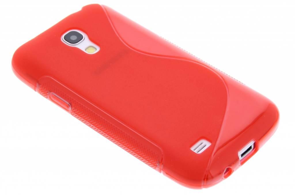 Rood S-line TP hoesje voor de Samsung Galaxy S4 Mini