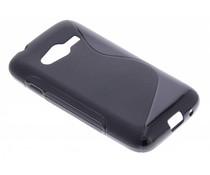 Zwart S-line TPU hoesje Samsung Galaxy Trend 2 (Lite)
