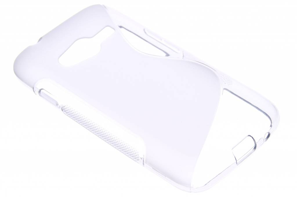 Grijs S-line TPU hoesje voor de Samsung Galaxy Ace Trend 2 (Lite)