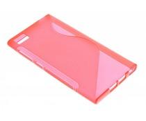 Rood S-line TPU hoesje Xiaomi Mi 3