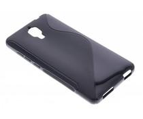 Zwart S-line TPU hoesje Xiaomi Mi4