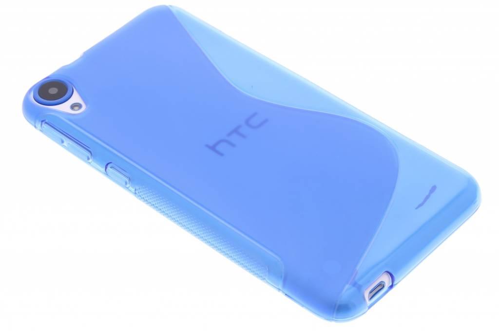 Blauw S-line TPU hoesje voor de HTC Desire 820