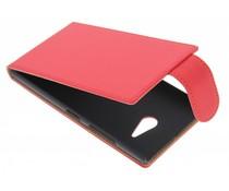 Rood classic flipcase Nokia Lumia 730 / 735