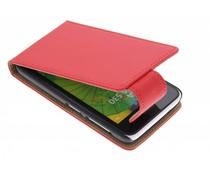 Rood classic flipcase Nokia Lumia 530