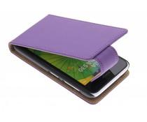 Paars classic flipcase Nokia Lumia 530