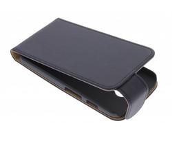 Zwart classic flipcase Motorola Moto X