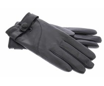 Mujjo Leather Touchscreen Gloves - Black