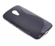 Zwart S-line TPU hoesje Motorola Moto G 2nd Gen 2014