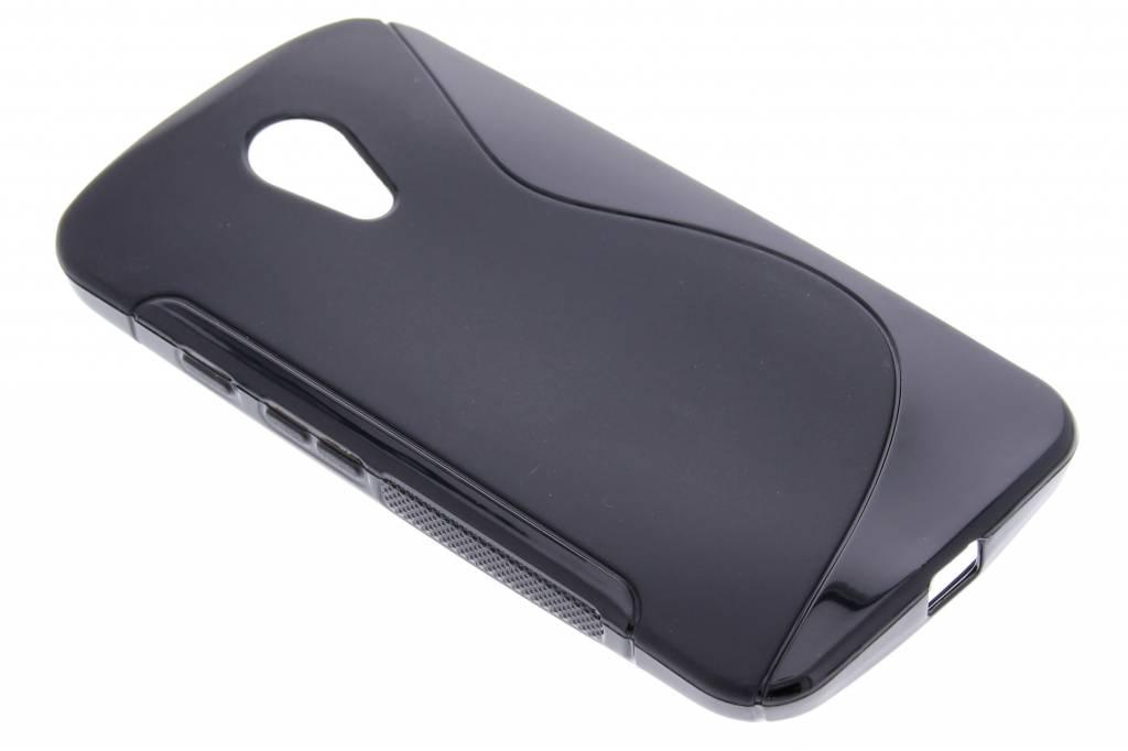 Zwart S-line TPU hoesje voor de Motorola Moto G 2nd Gen 2014