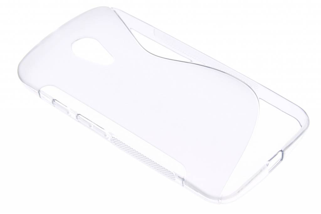Transparant S-line TPU hoesje voor de Motorola Moto G 2nd Gen 2014
