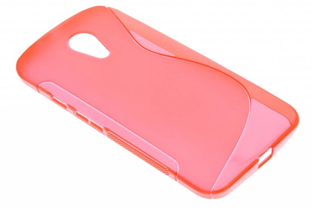 Rood S-line TPU hoesje voor de Motorola Moto G 2nd Gen 2014
