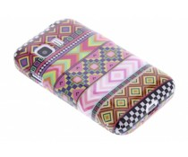 Design TPU siliconen hoesje Samsung Galaxy Young 2
