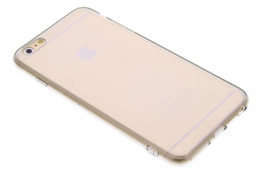 Grijs transparant TPU hardcase hoesje voor de iPhone 6(s) Plus