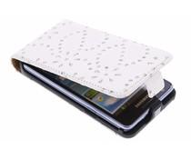 Bloemblad design flipcase Samsung Galaxy S2 (Plus)