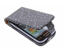Bloemblad flipcase Samsung Galaxy S Duos / Trend (Plus)
