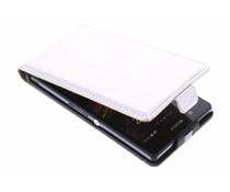 Zilver metallic flipcase Sony Xperia Z