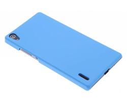 Turquoise effen hardcase hoesje Huawei Ascend P7